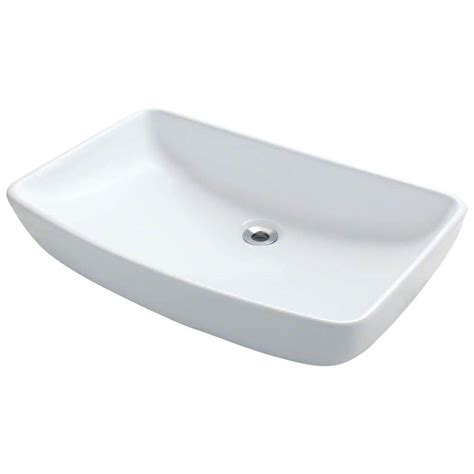 mr direct bathroom sinks mr direct porcelain vessel in white v350 w the home