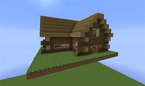 herobrine s small cabin minecraft project