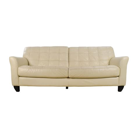 off white leather sofa off white leather couch www imgkid com the image kid