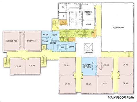 glenridge hall floor plans facility kent meridian building plan