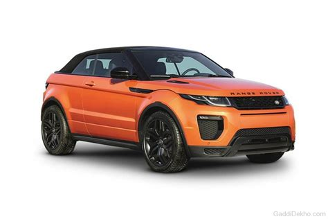 orange range rover evoque land rover evoque convertible car pictures images