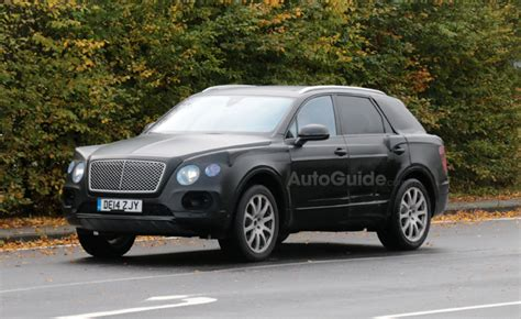 bentley suv 2014 bentley suv creeps closer to production in photos