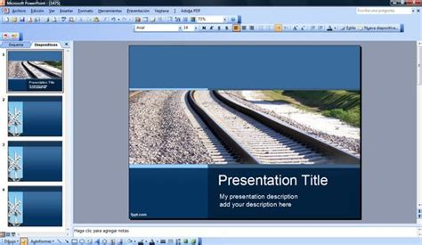 powerpoint templates transportation transport powerpoint template