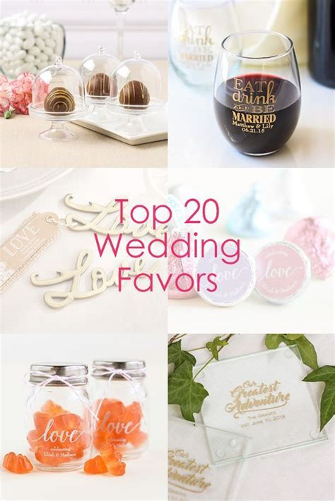 Planning a wedding? Find the best wedding favors all in