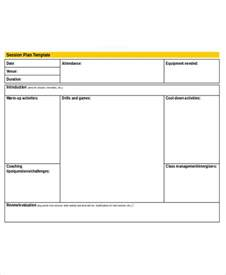 Session Plan Template For planning agenda template 7 free word pdf documents