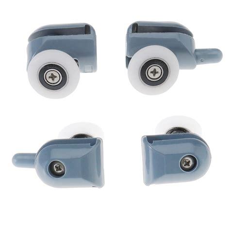 Shower Screen Door Rollers 8 Single Shower Screen Door Wheel Rollers Runner 25mm Home Diy Building T73 Ebay