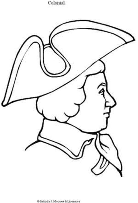colonial boy coloring page colonial city colouring pages