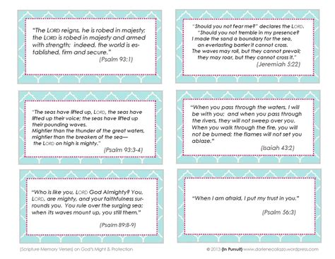 Scripture Memory Cards Template sinking is not an option steady yourself in him free