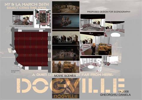 design proposal pinterest scenography interior design proposal dogville