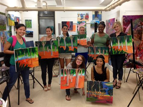 Painting Classes Nyc by Nyc S Most Inspiring Classes For The Wine And