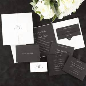 Paper Duvet Wedding Invitations by 103 Best Black Accented Wedding Invitations Images On