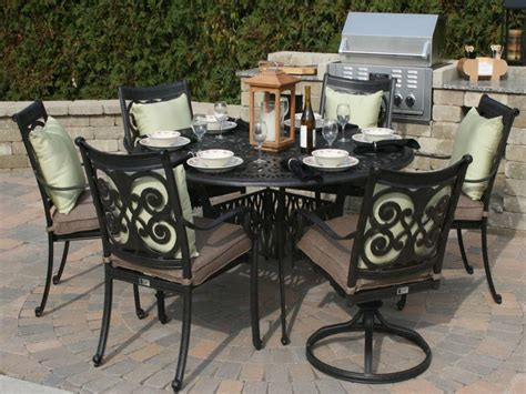 aluminum patio table set ideas aluminum patio