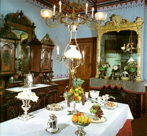 csh  victorian dining room camron stanford house