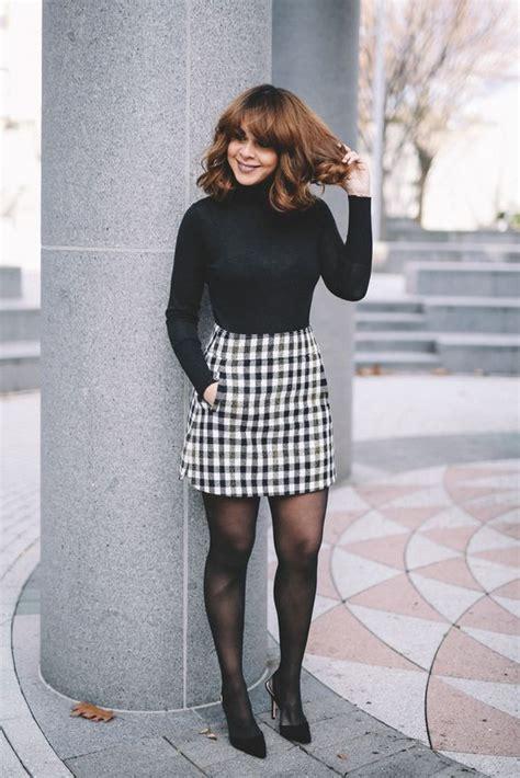 failed chic long sleeve ang mini skirt outfits