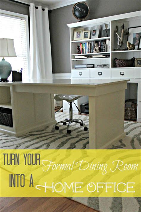 Turning Dining Room Into Home Office Dining Room Turned Home Office Details Southern State Of