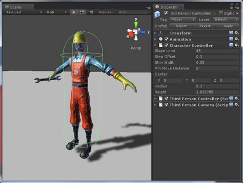 unity tutorial animation character physics in unity 3 53d game engine programming