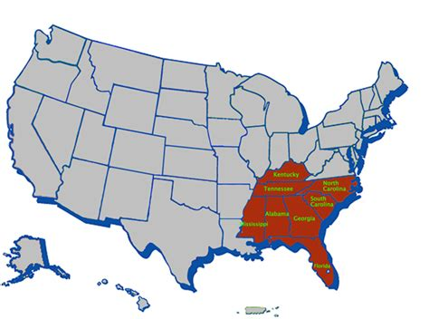 usa map jacksonville u s department of labor office of workers compensation