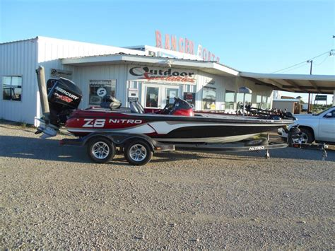 nitro boats for sale in texas nitro z 8 boats for sale in eastland texas