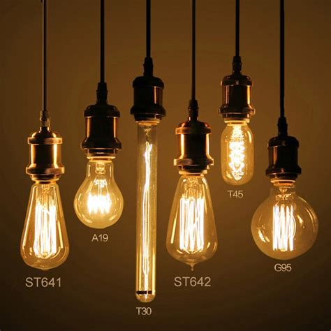 Decorative Led Lights For Home by Vintage Lamp Edison Bulb Chandelier Lighting G125 St64 E27