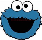 COOKIE MONSTER SESAME STREET Decal Removable WALL STICKER Home Decor