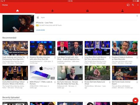 apple youtube youtube ios app gains native resolution on ipad pro mac