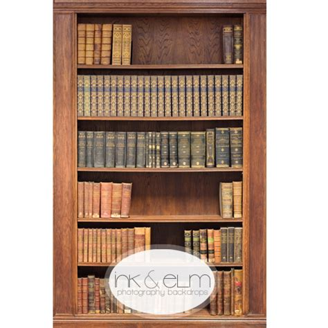photography backdrop quot antique bookshelf quot