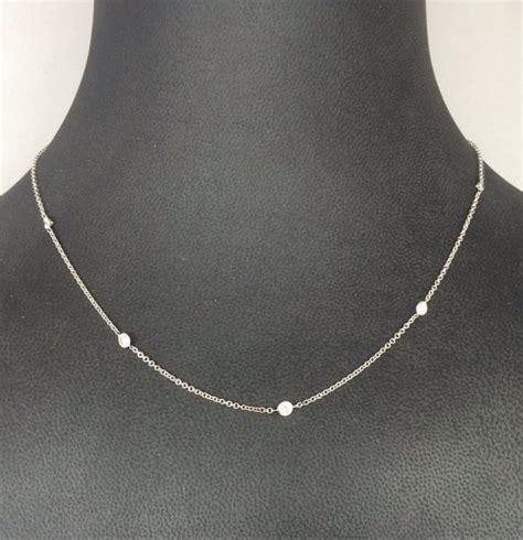 1 57ctw stationary necklace 17 inch