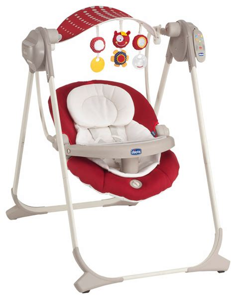 chicco polly baby swing chicco polly swing up red contemporary baby swings and