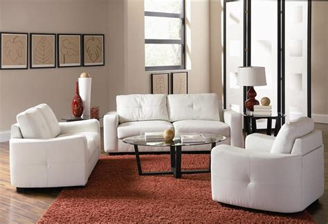 white living room chair living room packages