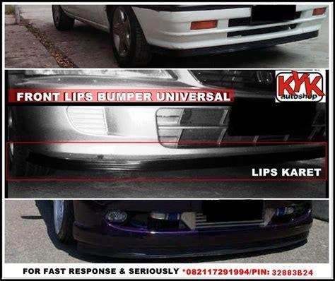 Bumper Karet Anti Gores Universal 6 fs front bumper universal karet murah