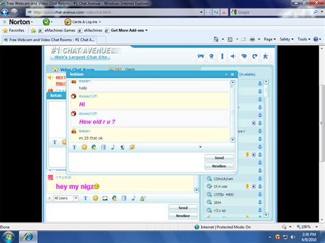 Chat room girl number 5