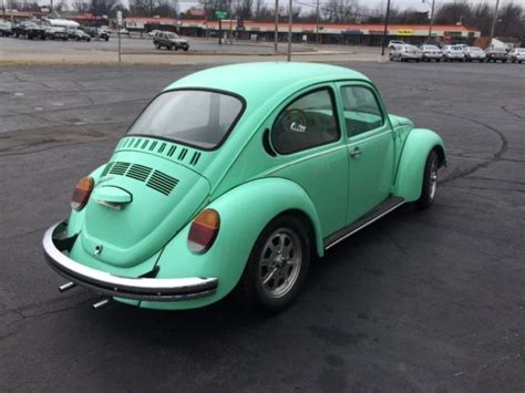 green volkswagen beetle 1973 volkswagen beetle mint green