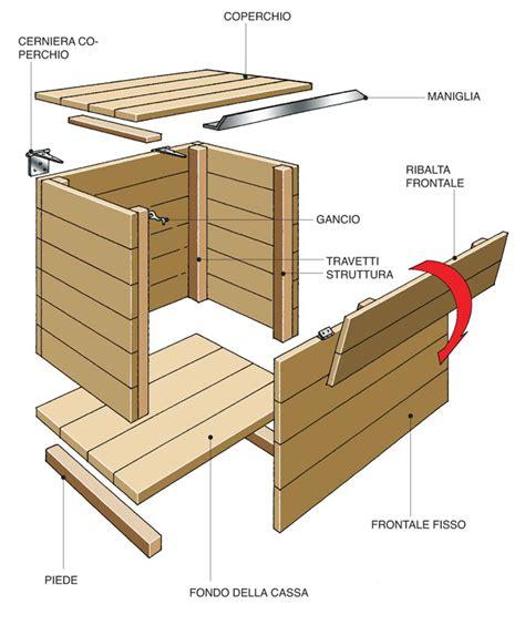 costruire una panchina di legno come costruire una cassapanca in legno bricoportale fai