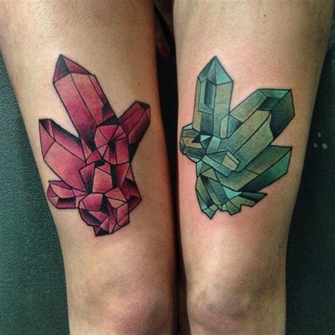 crystal tattoo tattoos designs ideas and meaning tattoos for you