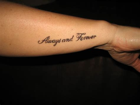 forever and always tattoos always and forever collections