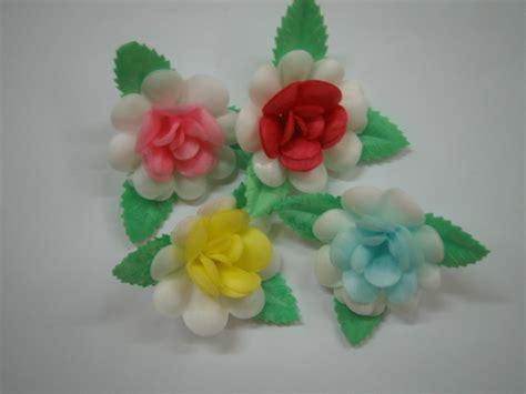 fiori di ostia per torte fiori in zucchero e in ostia centro decorazioni dolci