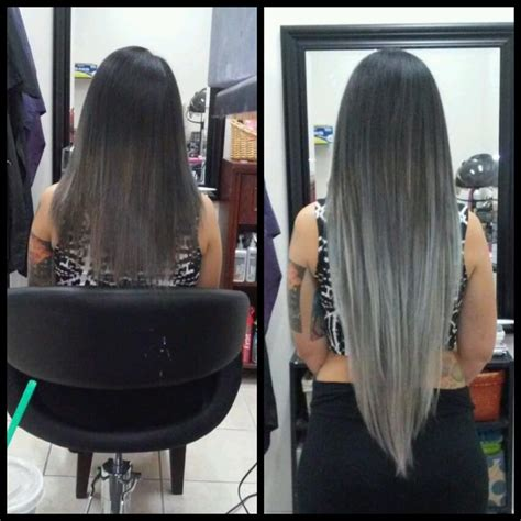hair extensions for thin hair in salt and pepper she by socap hair extensions 73 photos hair extensions