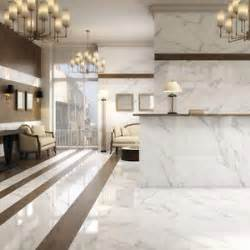 large white porcelain marble rectified wall floor tiles