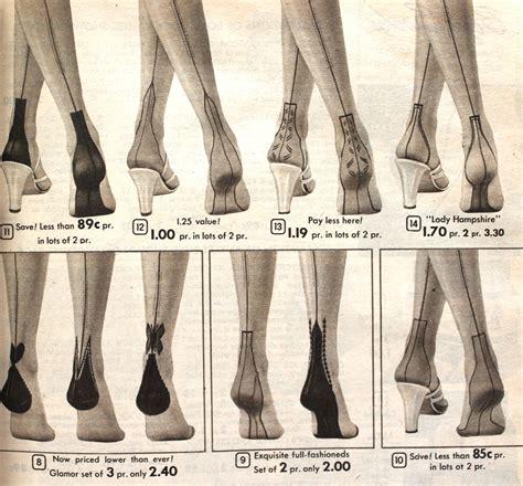 1950 nylon stockings pictures