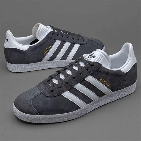mens shoes adidas originals gazelle solid grey bb5480
