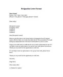 Resignation Letter Harvard Sle Letter Format 20 Documents In Pdf Word