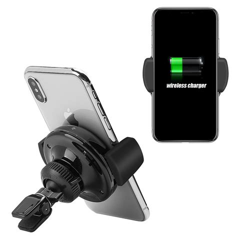 car qi wireless charging pad car mount  insten