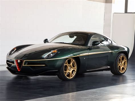 alfa romeo disco volante top gear touring s breathtaking alfa disco volante wears green and