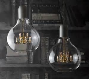 Lightbulb Chandelier Fancy A Chandelier Inside A Light Bulb Things