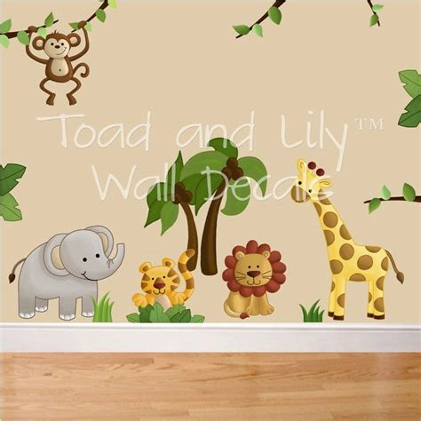 Nursery Safari Wall Decals 137 Best Images About Safari On Pinterest Jungle Animals Zoos And Rainforest Animals