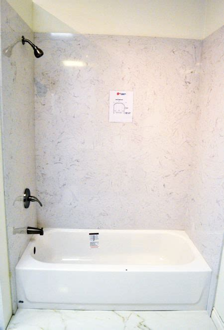quartz bathtub amp shower surround � a1 cabinets amp granite
