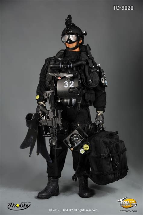 navy seal dive gear my 4 toys toyscity 1 6 u s navy seal sdvt 1