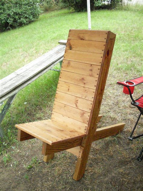 camp chair wooden diy camping chairs outdoor chairs