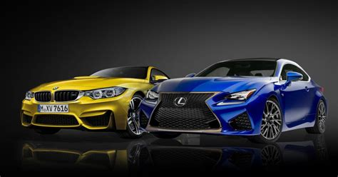 2015 bmw m4 versus 2015 lexus rc f battle of the luxury