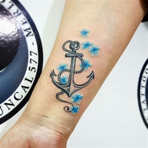 area 54 tattoos anchor motifs 54 cool ideas for your next